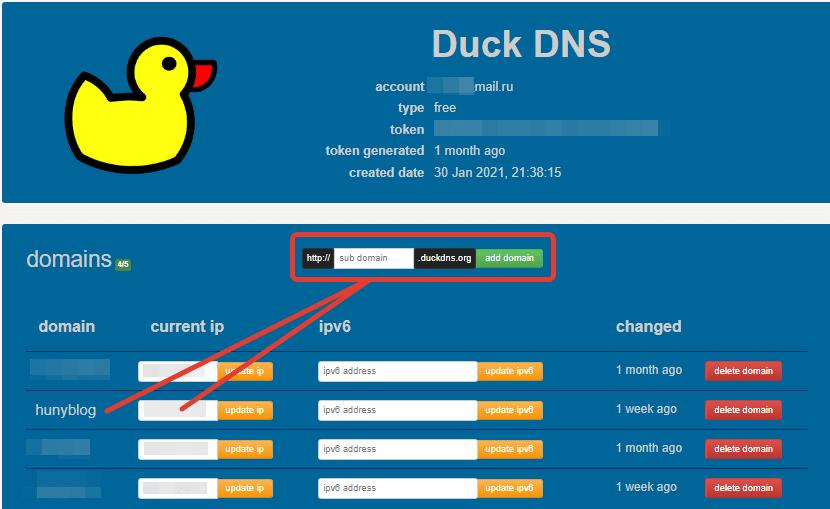 Бесплатный домен для сайта WordPress