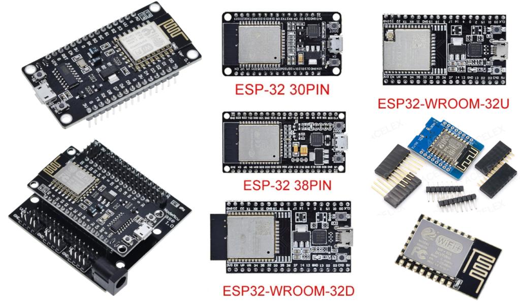 ESP8266 & ESP32