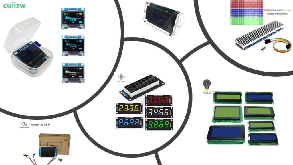 Дисплеи TFT, TM, LCD, OLED, LED...